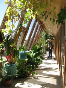 greenhouse Earthship